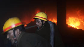 Firefighter dies and 13 more injured after BURNING battery factory collapses in Delhi (PHOTOS, VIDEOS)
