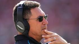 'Riverboat Ron' a Redskin: Former Carolina Panthers boss Ron Rivera named new Washington head coach