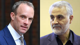 'We urge all parties to de-escalate': British foreign sec Raab calls for calm after US assassination of Iranian commander