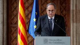 Catalan president barred from holding office by Spain's electoral board