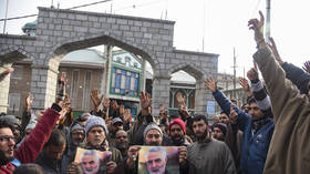 Shia Muslims of India's Kashmir protest Soleimani assassination, vow 'revenge' on US & Israel (VIDEOS)