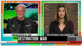 Jesse Ventura: 'We've been itching for war with Iran for a long time.'