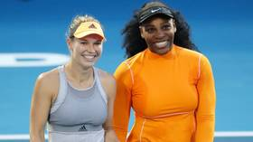 'It's amazing to share the court with Serena': Caroline Wozniacki and Serena Williams team up to win first doubles match