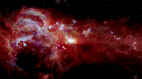 Journey to the 'galactic core': New infrared NASA images show Milky Way's center in unprecedented detail (PHOTO)