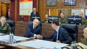 Putin makes surprise Christmas visit to Syria, holds security talks with Assad