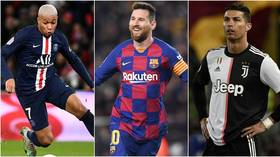 Messi down in 8th and Cristiano Ronaldo just scraping into top 50! Football boffins name game's most valuable stars