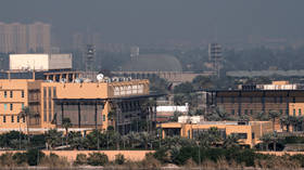 Several rockets hit '100 meters away' from US embassy, cause fire in Baghdad's Green Zone