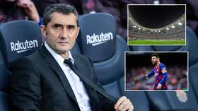 'Football's a business... that's why we're here': Barcelona boss Valverde hits out at Spanish Super Cup's new Saudi format