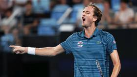 ATP Cup: Russia into semifinals after Medvedev edges ill-tempered clash with Argentina's Schwartzman