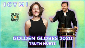 ICYMI:  Truth hurts at the Golden Globes as Ricky Gervais' host and roast is too much for some (VIDEO)