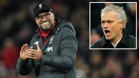 'Come on! Google it! We have time!' Jurgen Klopp forces reporter to Google search Jose Mourinho's playing position (VIDEO)
