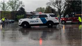 Gunman on the run in Aurora, Colorado after shooting up a party and wounding 5 people