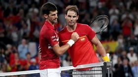 New tournament, old rivalry: Novak Djokovic beats Rafael Nadal to send ATP Cup final to decisive doubles showdown (VIDEO)