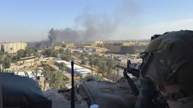 4 Iraqi Air Force servicemen injured as 8 rockets hit base housing US troops