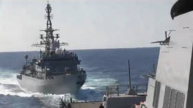 Your proof proves you wrong: VIDEOS of Russian warship's 'aggressive approach' actually show US Navy violating maritime law – MoD