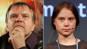 Meat Loaf slams 'brainwashed' Greta Thunberg, says she was 'forced' into climate change belief