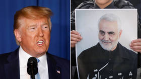 Trump says his tweets are 'notification' to Congress, pledges 'disproportionate' response to Iran in case of attack