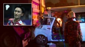 Badminton world number one Kento Momota injured and driver killed in Malaysia car crash
