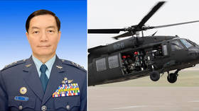 Taiwan's chief of general staff killed in helicopter crash – military