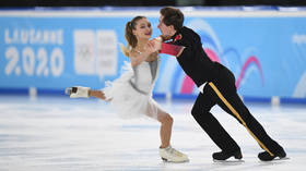 Double success: Russian ice-dancing duos take gold & silver at 2020 Youth Olympic Games (VIDEO)