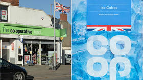 'What next? British air?' Baffled Brits bash Co-Op supermarket chain over boast about ice cubes made with 'British water'
