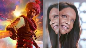 'Acid survivor' vs 'Hindu warrior': Great box office battle splits Indian audiences along political lines