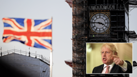 BoJo slammed for spouting nonsense, as he calls for the public to 'bung a bob for a Big Ben bong' for Brexit day (VIDEO)