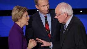 'Even Hillary and Trump shook hands': Warren snubs Sanders handshake after tense Democratic debate (VIDEO)
