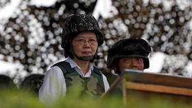Taiwan holds military exercises after president's re-election