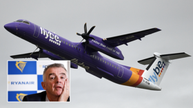 'Cover-up to bail out billionaires': Ryanair boss threatens legal action against UK govt after it pledges to save Flybe airline