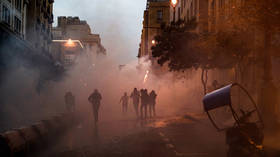 Lebanese president calls on ARMY to intervene as massive protests turn violent in Beirut (PHOTOS, VIDEO)