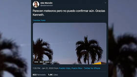 Puerto Ricans baffled by strange lights appearing overhead in dawn skies (VIDEO, PHOTOS)