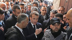'Respect the rules': French President Macron snaps at Israeli police in Jerusalem (VIDEO)