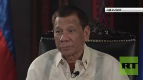 'I want to open new fronts with Russia & China as US lived off the fat of our land,' Philippines' Duterte tells RT