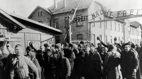 Listening to Mike Pence's history, you might think it wasn't Soviets but Americans who liberated Auschwitz