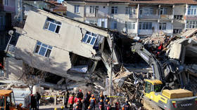 NEW earthquake hits already quake-devastated E. Turkish province
