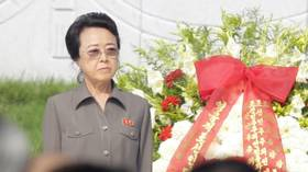 A resurrection of sorts: Kim Jong-un's aunt stuns guests with a shock appearance, after being 'killed' by tabloids years ago
