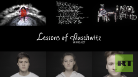 'Lessons of Auschwitz': Moscow school students create VR animation tribute to Holocaust victims (VIDEO)
