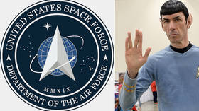 US Space Force logo may look like a Star Trek rip-off, but only if you miss the obvious 'RUSSIAN connection'