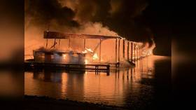 '35 boats on fire, people jumped into the water': At least 8 dead in Tennessee River inferno (PHOTOS, VIDEOS)