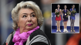 'Envy is a major sin': Tatiana Tarasova slams German figure skating boss for calling Russian team 'factory of champions'