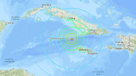 Tsunami warning issued for several Caribbean countries after 7.7 earthquake