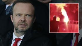 Firework 'attack' on Man United chief Woodward's home shows disturbing level of disgust from fans at breaking point