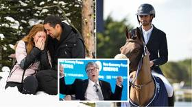 Will dad splash the cash for the wedding?! Bill Gates' daughter gets engaged to Egyptian showjumping star