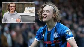 Quick learner! Teenager celebrates passing driving test by signing for Premier League team day after