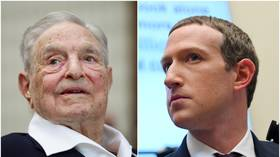 Don't make me repeat myself again! Soros threatens Zuckerberg must be removed from Facebook 'one way or another'