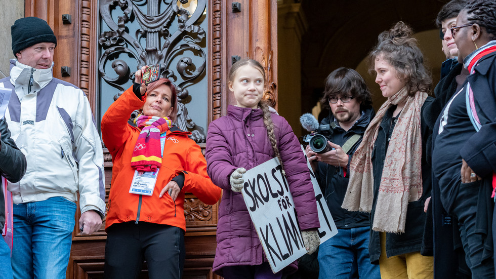 Greta nominated for Nobel Peace Prize AGAIN , as adults use teen to push climate narrative at expense of peace message
