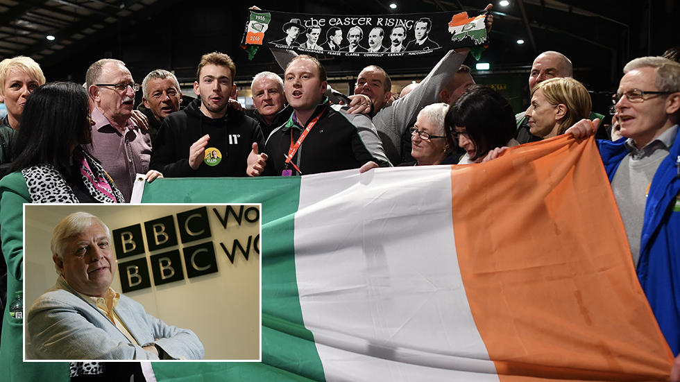 BBC journalist sparks anger online after 'populist' jibe in wake of historic success for Sinn Fein in Irish elections