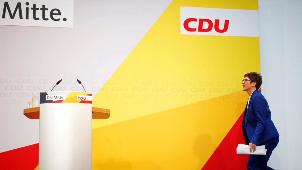 Merkel's party trembles: AKK departure sparks predictions of 'CDU end' & calls for German govt reshuffle