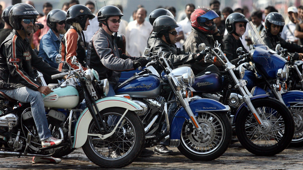 Freeway for Harleys? India floats tariff cut for iconic US motorcycle on heels of Trump visit & possible trade deal